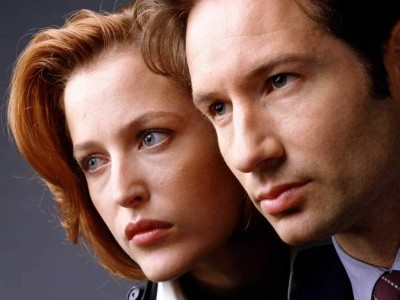 Fox Mulder and Dana Scully, David Duchovny and Gillian Anderson