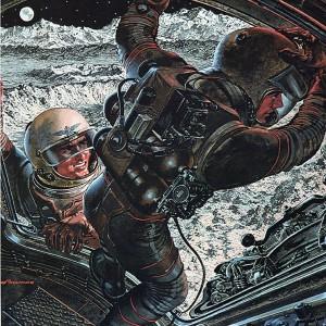 1950s/60s war & sci-fi magazine illustrations