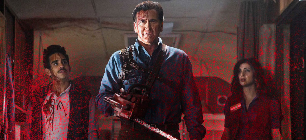 Evil Dead vs the Gore Zone