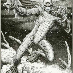 Art Adams monster drawing