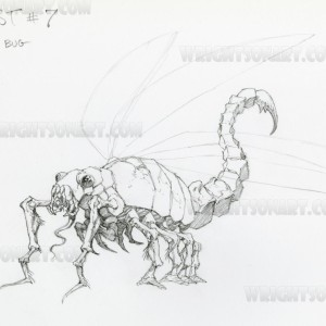 Bernie Wrightson The Mist movie concept art