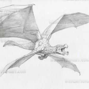 Bernie Wrightson The Mist movie concept art