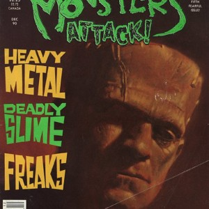 Monsters Attack comic magazine