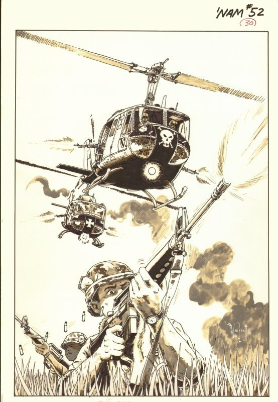 The Nam 52 pinup by Van Sant