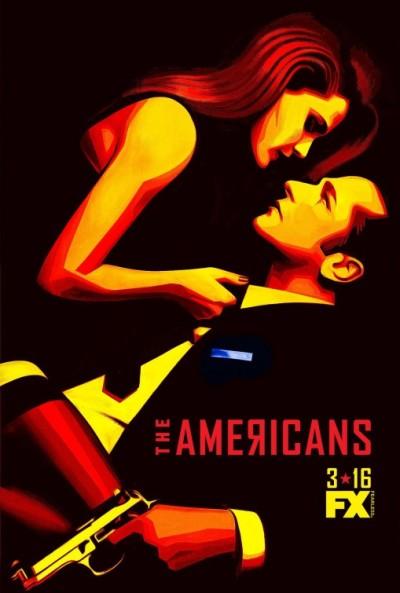 The Americans season 4 poster