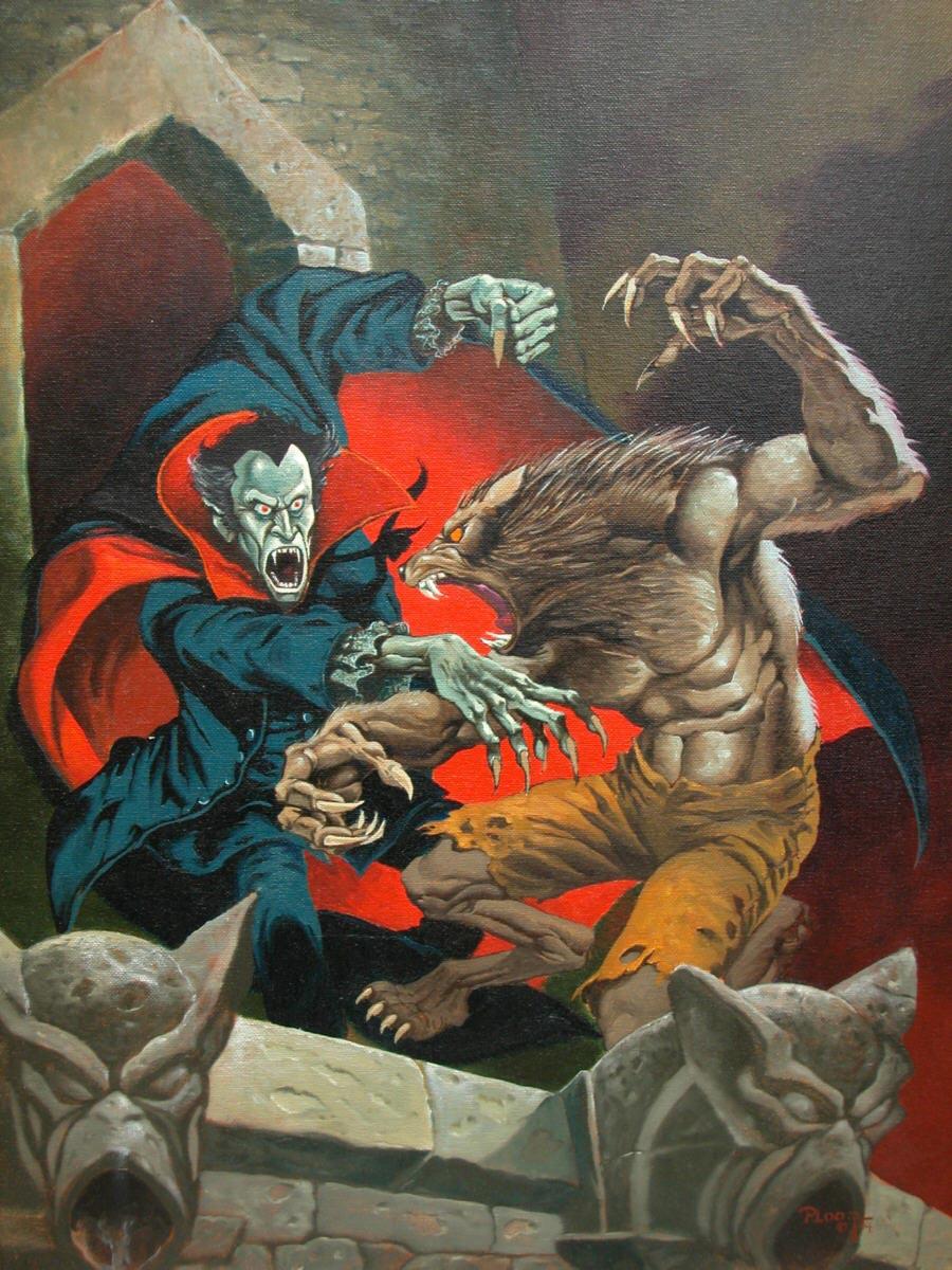 ploog-werewolf-vs-dracula