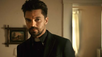 Dominic Cooper as the Preacher
