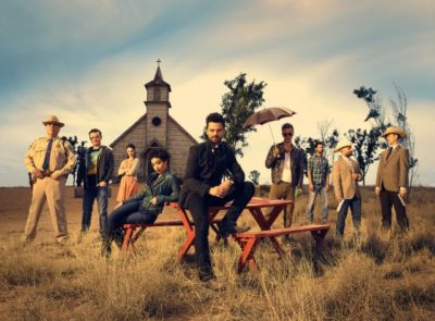 The cast of The Preacher
