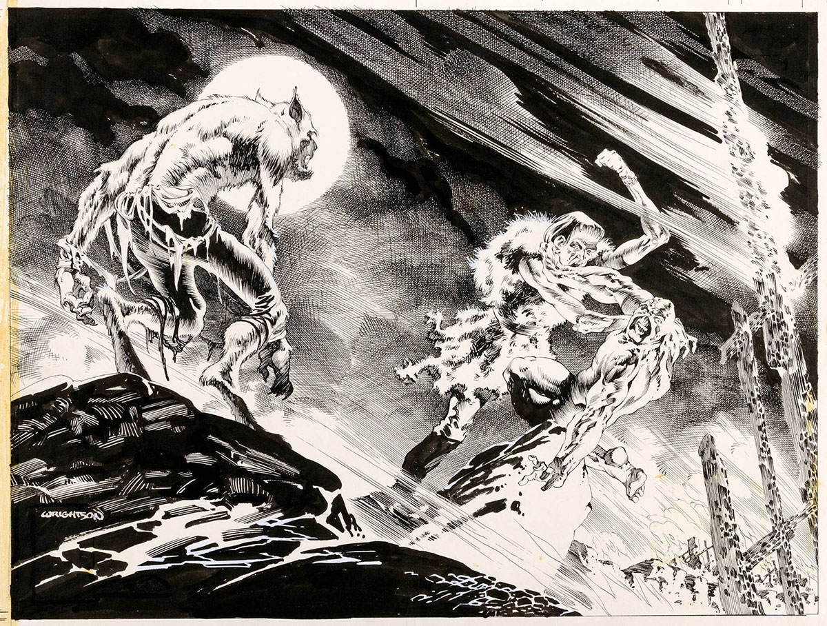 bernie-wrightson-swamp-thing-splash-page