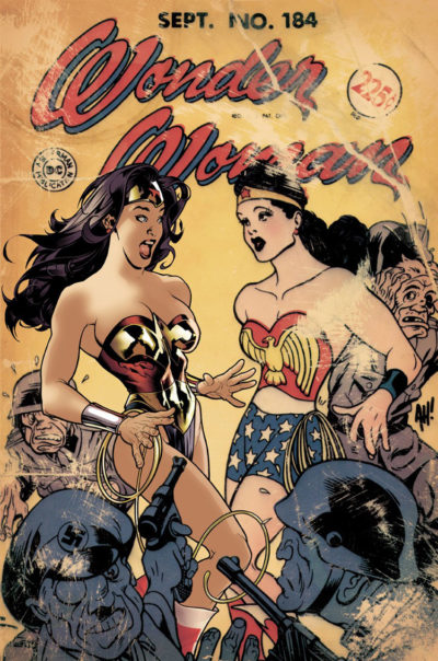 Wonder Woman comic book cover