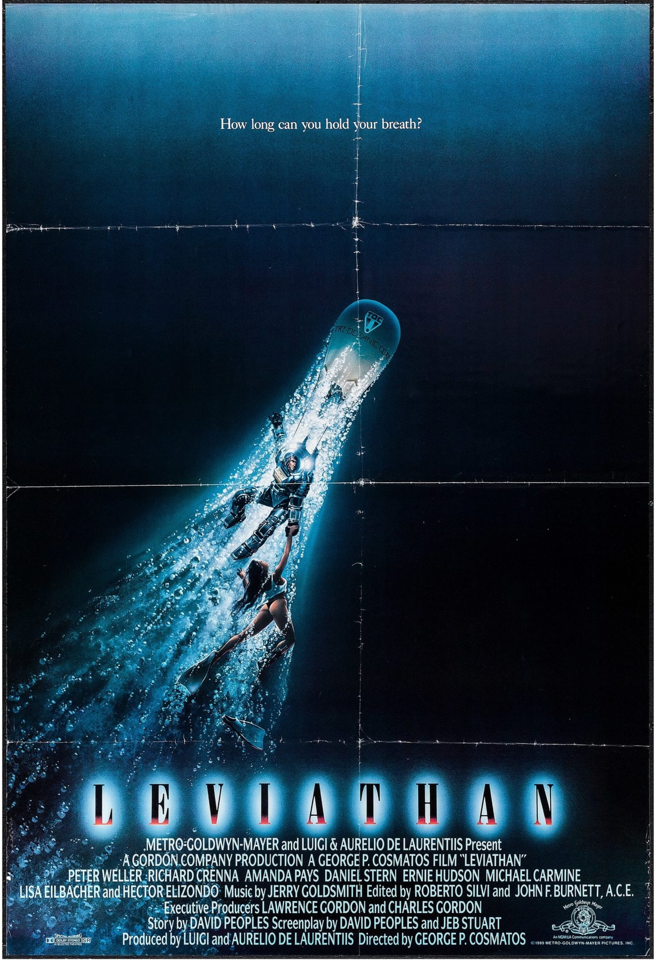 Leviathan (1989) movie poster – Dangerous Universe