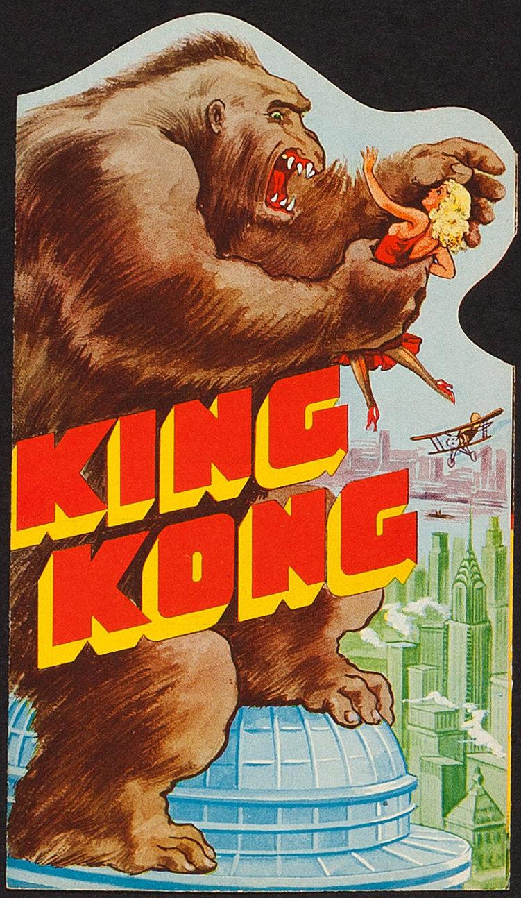 King Kong 1933 Movie Poster Dangerous Universe