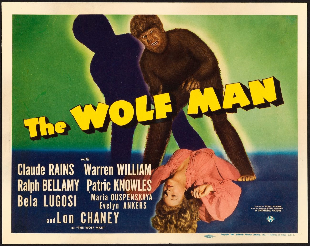 The Wolfman (1941) movie poster – Dangerous Universe